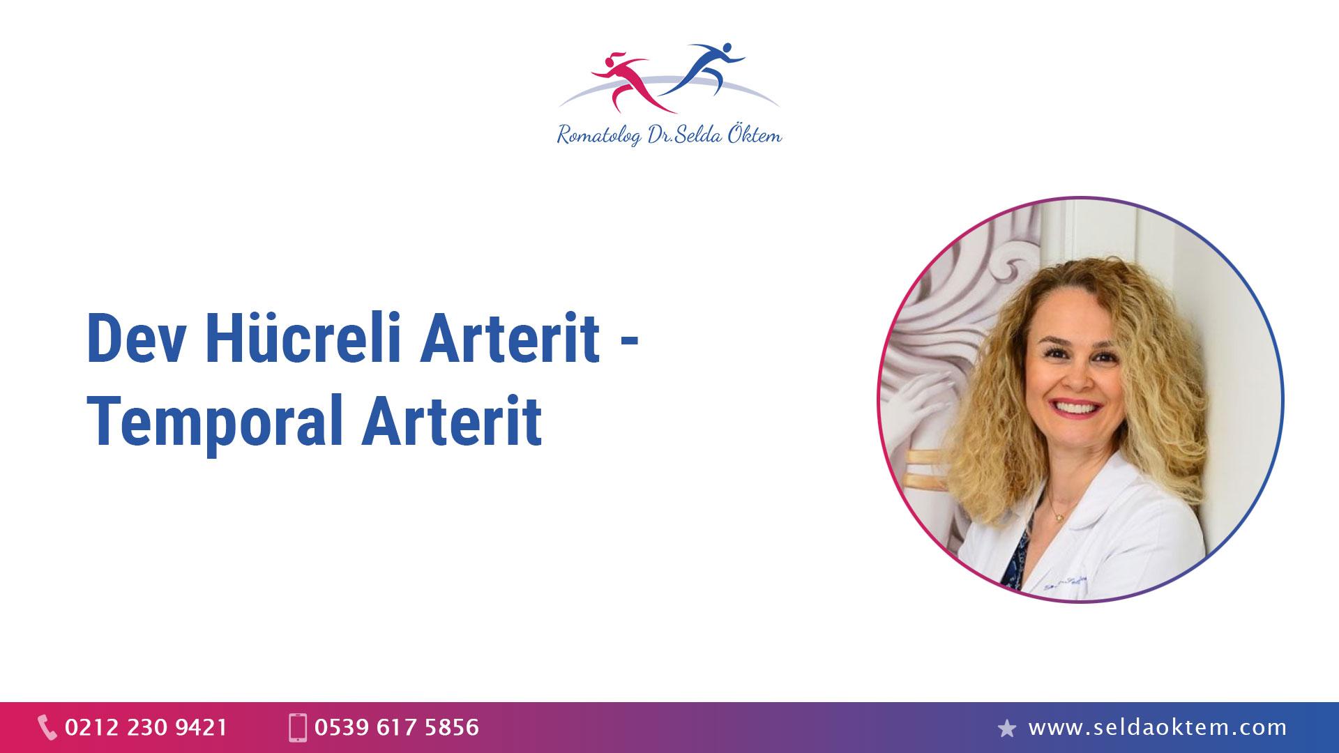 Dev Hücreli Arterit - Temporal Arterit